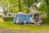 Pitch - Nature Package : 1 car + tent/caravan or camping-car - Camping Les Chevaliers de Malte