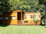 Rental - Chalet Ro35 35 m² - 2 Rooms - Camping L'Ombrage