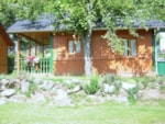 Rental - Chalet Nymphéa 35 m² - 2 Rooms - Camping L'Ombrage
