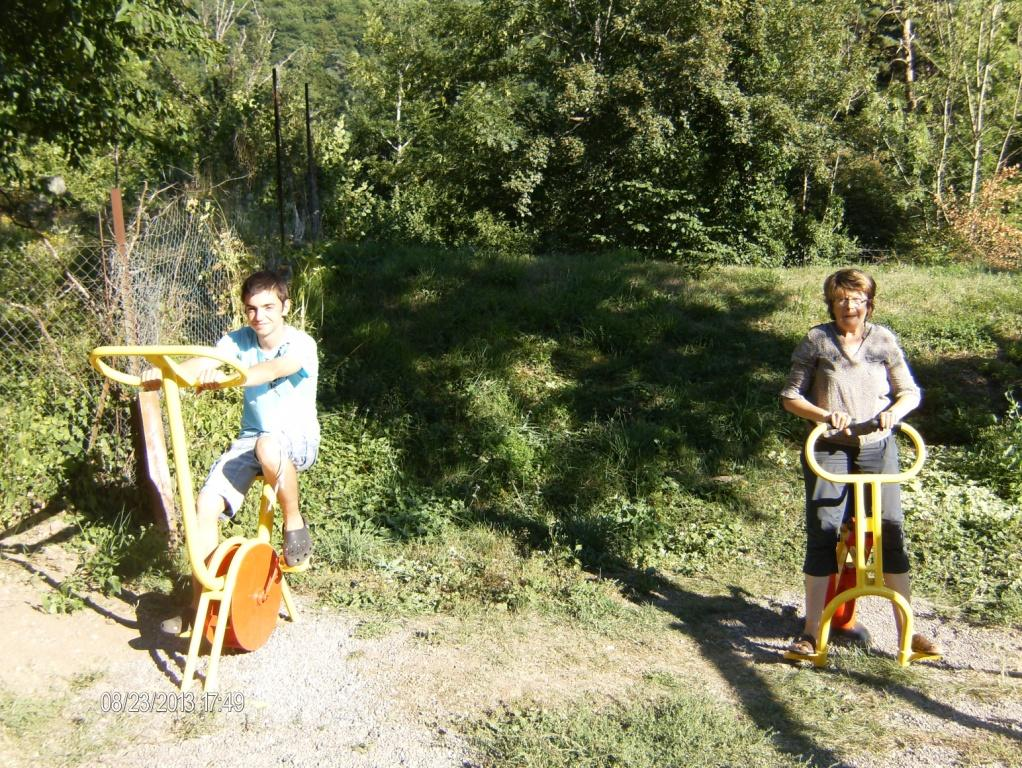 Baden Camping L'Ombrage - St Pierre Colamine