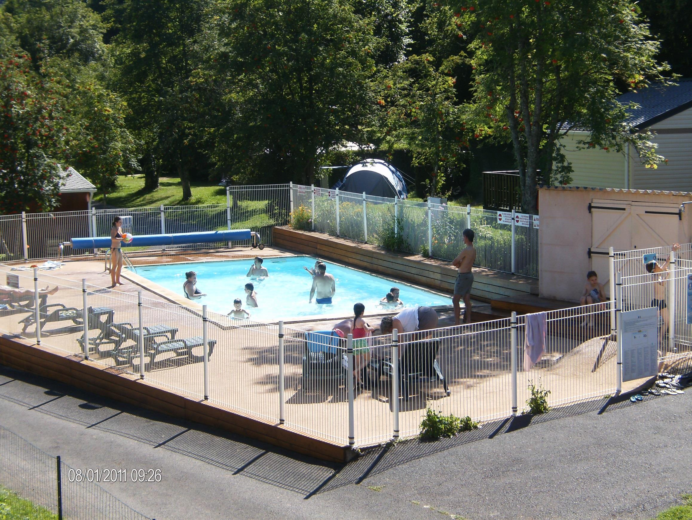 Betrieb Camping L'Ombrage - St Pierre Colamine
