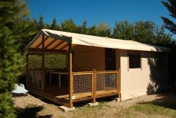 Tent Ecolodge Without Toilet Blocks