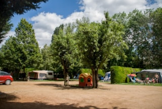 Camping site with your own equipment