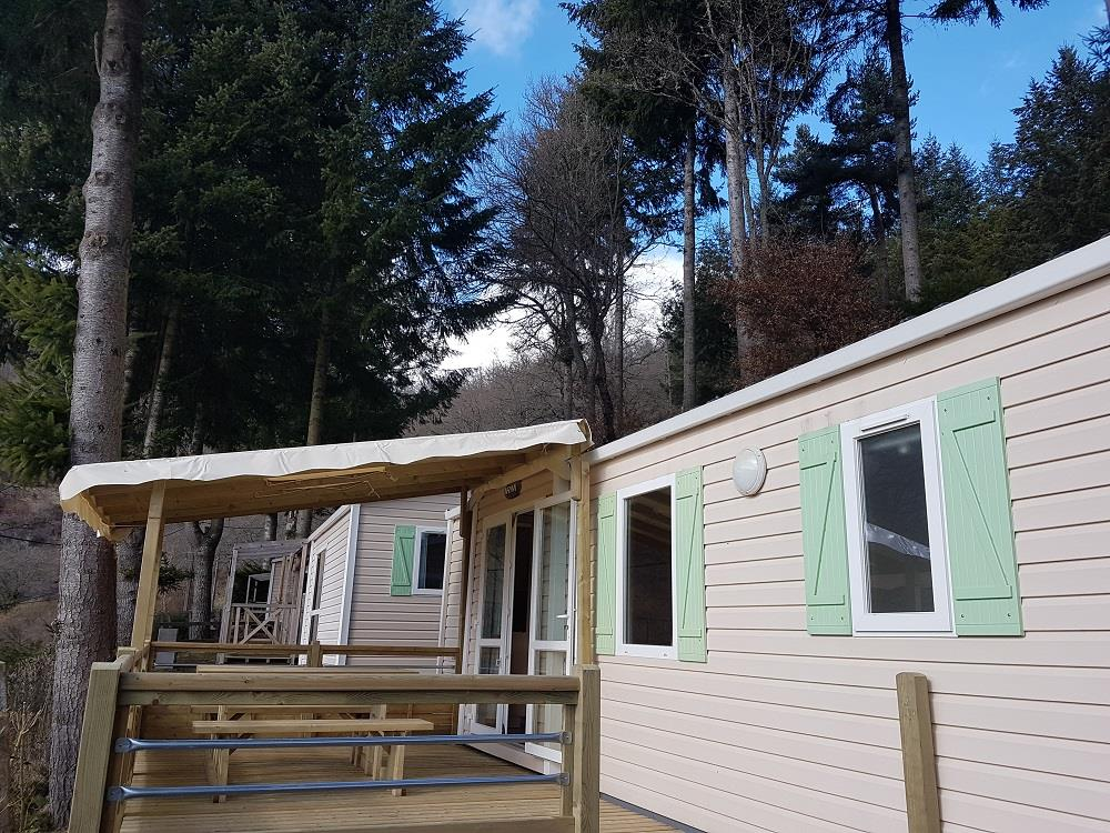 Mobil home Confort 30 m² + terrasse (2 chambres)