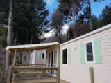 Rental - Mobile Home Confort 30 M²   (2 Bedrooms) - Flower Camping Le Belvédère