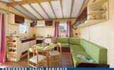 Rental - Chalet Confort + 35 m² + sheltered terrace (3 bedrooms) - Flower Camping Le Belvédère
