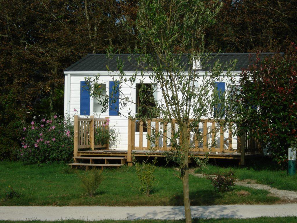 Location - Mobil Home Modulo 23M² - 1 Chambre - Camping Les Peupliers