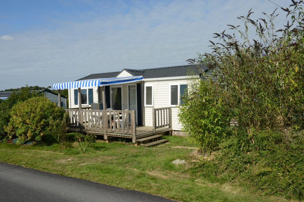 Location - Mobil Home Tamaris 30M² - 3 Chambres - Camping Les Peupliers