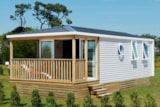 Rental - Mobile-Home  * Premium * - Camping Charlemagne