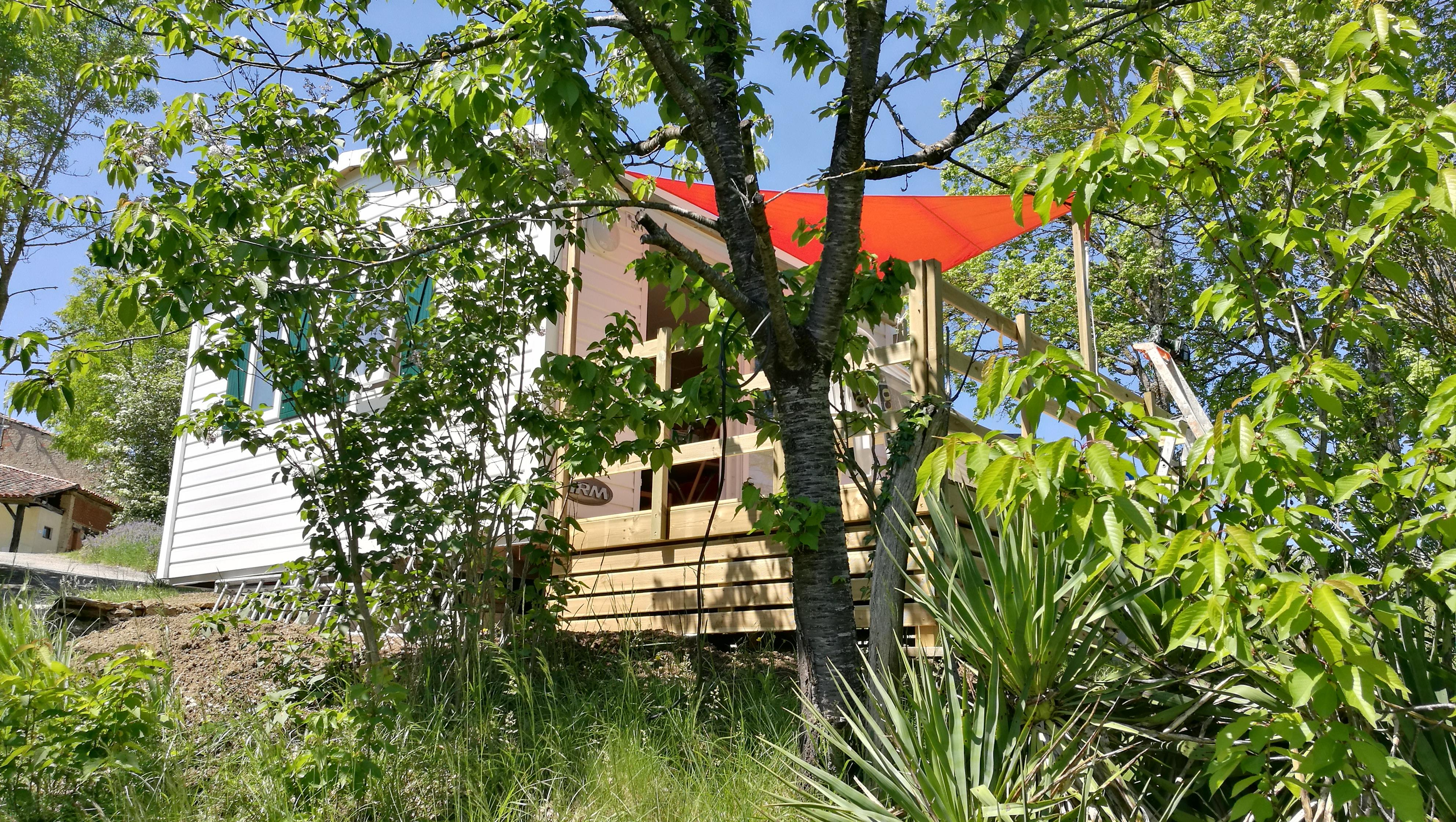 Accommodation - Rossignol (10) - Camping Naturiste Les Aillos