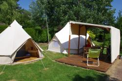 Nomadic Tent Confort + 36M² 2 Bedrooms + Terrace 10M² - No Bathroom