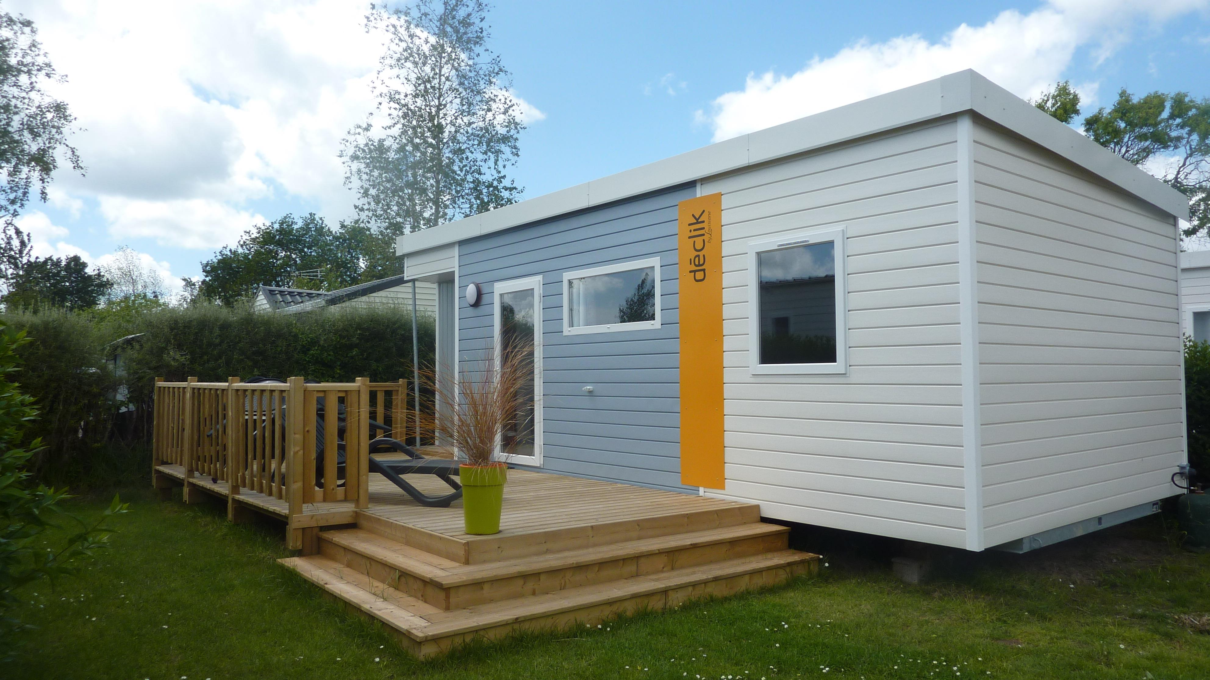 Mobil-home 29m² Wooden terrace 4 pers