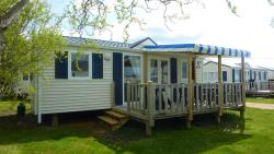 Mobil-home Atlantique sheltered Wooden tarrace 30m²