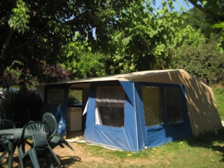 Fully Equiped Frame Tent Cabanon 28.5M² (Without Toilet Blocks)