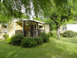 Huuraccommodatie - Chalet - Camping Le Riou Merle
