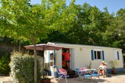 Location - Mobilhome Grand Confort - Camping Les Terrasses Provençales