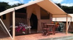 Rental - Equipped Tent for rent CABANON 20m² / 2 bedrooms - terrace (without toilet blocks) - Capfun - Domaine des Forges