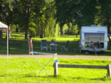 Pitch - Pitch : car + tent/caravan or camping-car - Camping Le Rochat-Belle-Isle