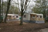 Rental - Mobile home Trio 3 bedrooms - Terrace - Camping Le Rochat-Belle-Isle