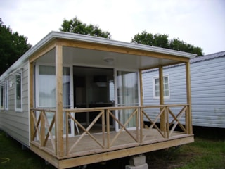 Mobile-Home Duo 31M² 2 Bedrooms Front River