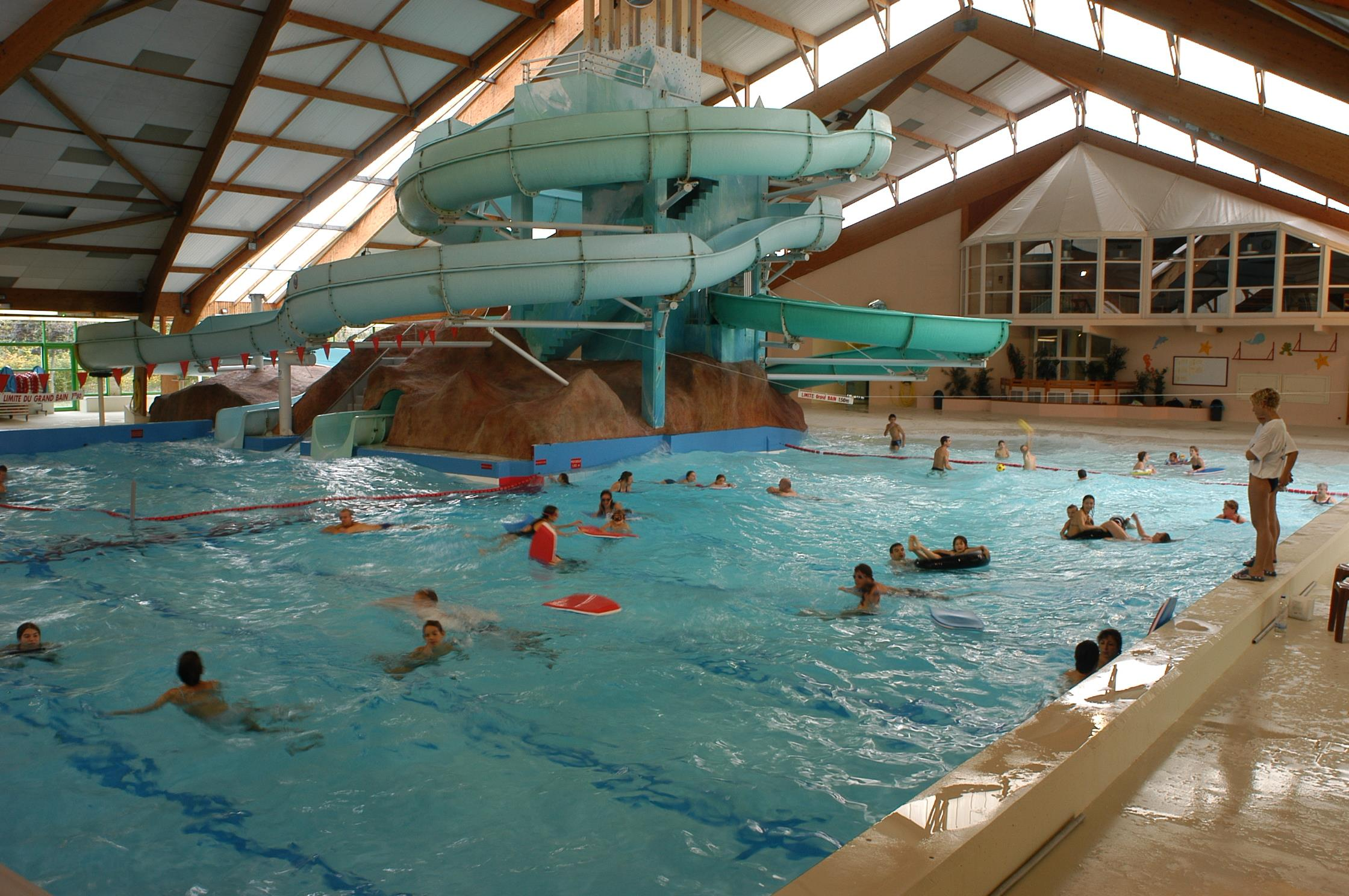 Baignade Camping Le Rochat-Belle-Isle - Chateauroux