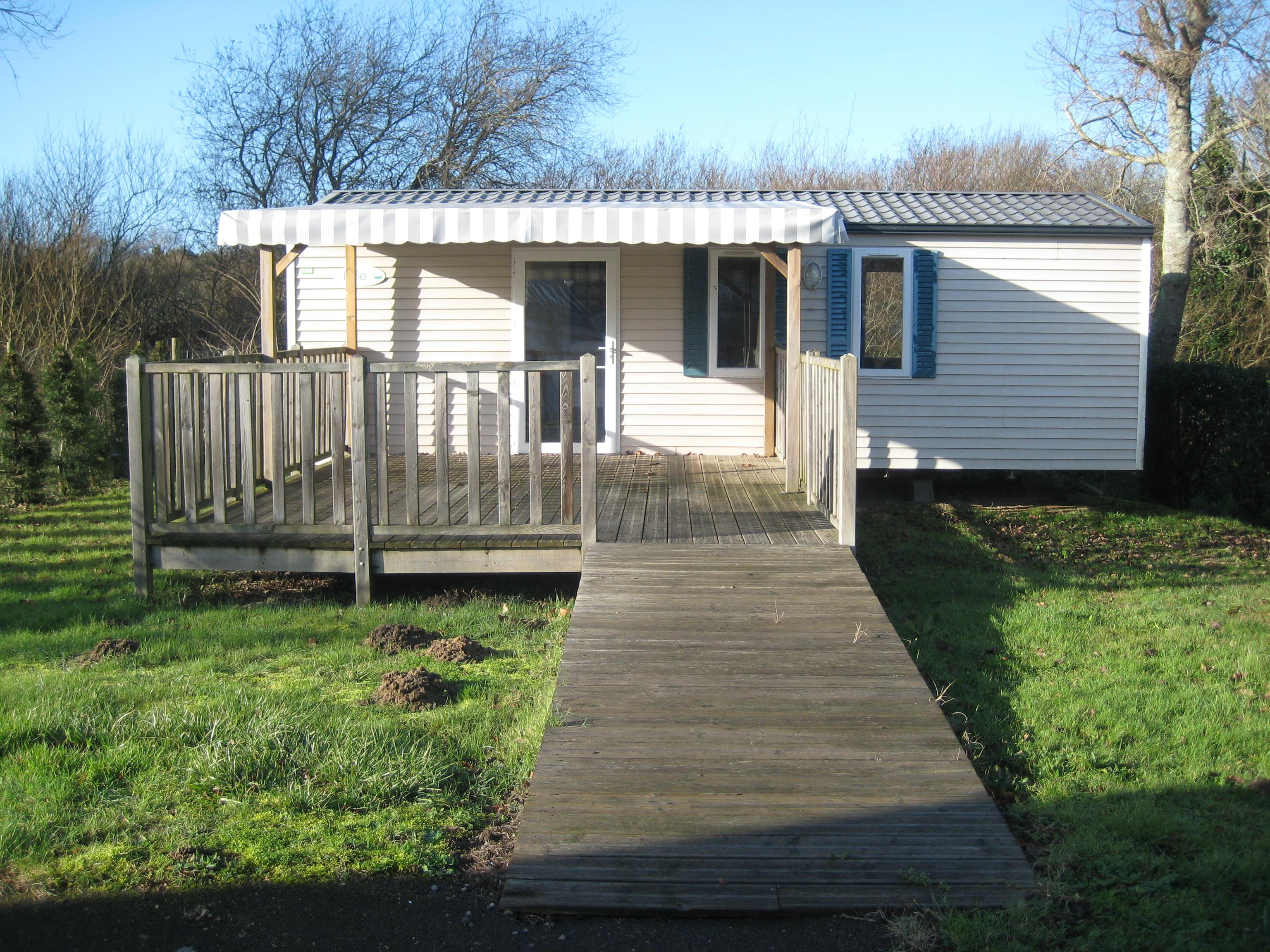 Location - Mobilhome Handicapé Pmr O'hara 834 Life 2 Chambres 33M² Avec Terrasse - Camping Pen Palud