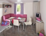 Rental - Mobile home SUPER MERCURE FAMILLE 27.5m² (2 Bedrooms) - Camping Le Marqueval