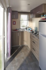 Rental - Mobile home RIVIERA 32m² (2 bedrooms) - Camping Le Marqueval