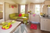 Rental - Mobile home SUPER CORDELIA, TITANIA, RIVIERA 3 32m² (3 Bedrooms) - Camping Le Marqueval