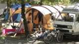 Pitch - Pitch 2 persons - Small tent of 8 m2 Maximum - Car - Camping Lou Cantaïre