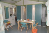 Rental - CHALET MOOREA 5 pers. + place per 1 vehicle - Camping Lou Cantaïre