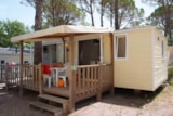 Rental - BAHAMAS 6 pers. + place per 1 vehicle - Camping Lou Cantaïre