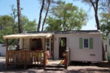 Rental - RIVIERA 6 pers. + place per 1 vehicle - Camping Lou Cantaïre