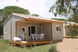 Rental - Chalet Chicana (For Disabled Person) 6 Pers. + Place Per 1 Vehicle - Camping Lou Cantaïre