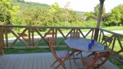 Rental - Chalet Charmille - 2 bedrooms with sanitair - Camping Bleu Soleil