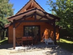 Rental - Chalet 51m² (2  bedrooms) - Flower Camping Bimbo