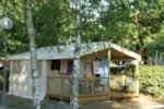 Rental - Eco Tente 20m² (2 bedrooms) without toilet blocks - Flower Camping Bimbo