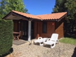 Rental - Chalet Confort+ 35m² (2 rooms) + Dishwasher - Flower Camping Bimbo