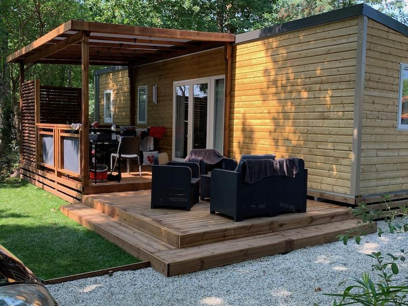 Location - Mobilhome Privilège 40M2 4 Ch 8 Pers Clim/Lave Vaisselle/Tv - Camping Bimbo