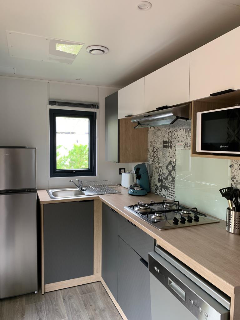 Mobilhome Privilège 29M2 2 Ch 4 Pers Clim/Lave-Vaisselle/Tv
