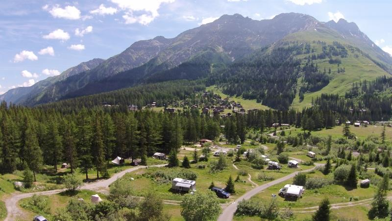 Establishment Camping des Glaciers - La Fouly