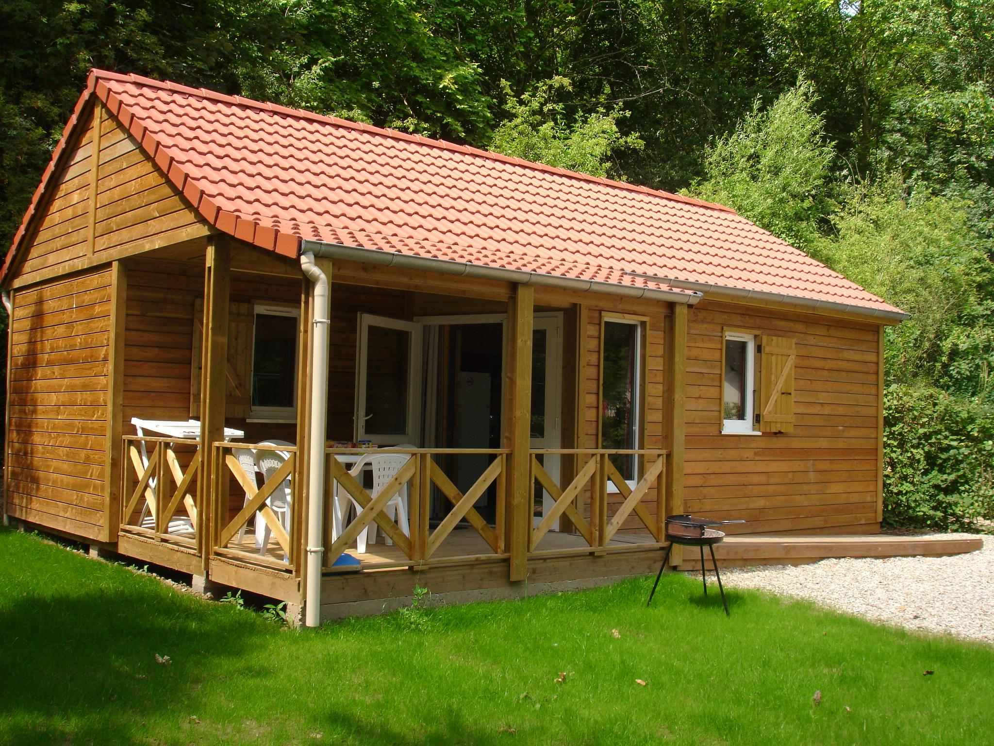 Wooden Chalet Confort with 2 bedrooms