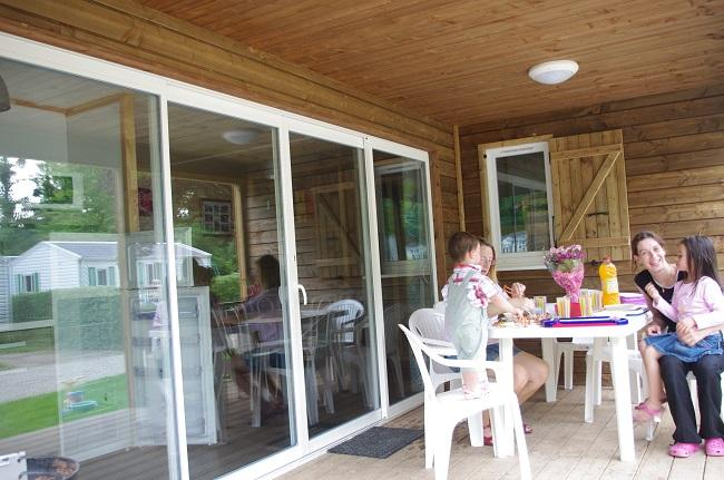 Wooden chalet VIP with 3 bedrooms ans 2 bathrooms