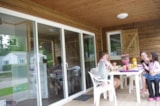 Rental - Wooden Chalet Vip With 3 Bedrooms Ans 2 Bathrooms - Camping Val de Trie