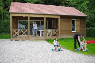 Wooden Chalet Grand Confort Wih 3 Bedrooms