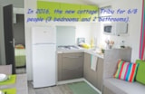 Rental - Cottage Cosy bois Tribu 6/8 pers - Camping Val de Trie