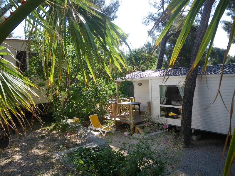 Mobile home Confort 28 - 30m² (2 bedrooms) + sheltered terrace