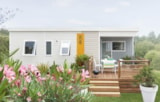 Rental - Mobile Home Declik Confort 29M² - 2 Bedrooms - Flower Camping Les Pins ROYAN