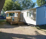Rental - Mobile Home Genoa Confort 32M² - 2 Bedrooms - Flower Camping Les Pins ROYAN
