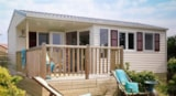 Rental - Mobile Home Pacifique 2007 Confort 29M² - 2 Bedrooms - Flower Camping Les Pins ROYAN